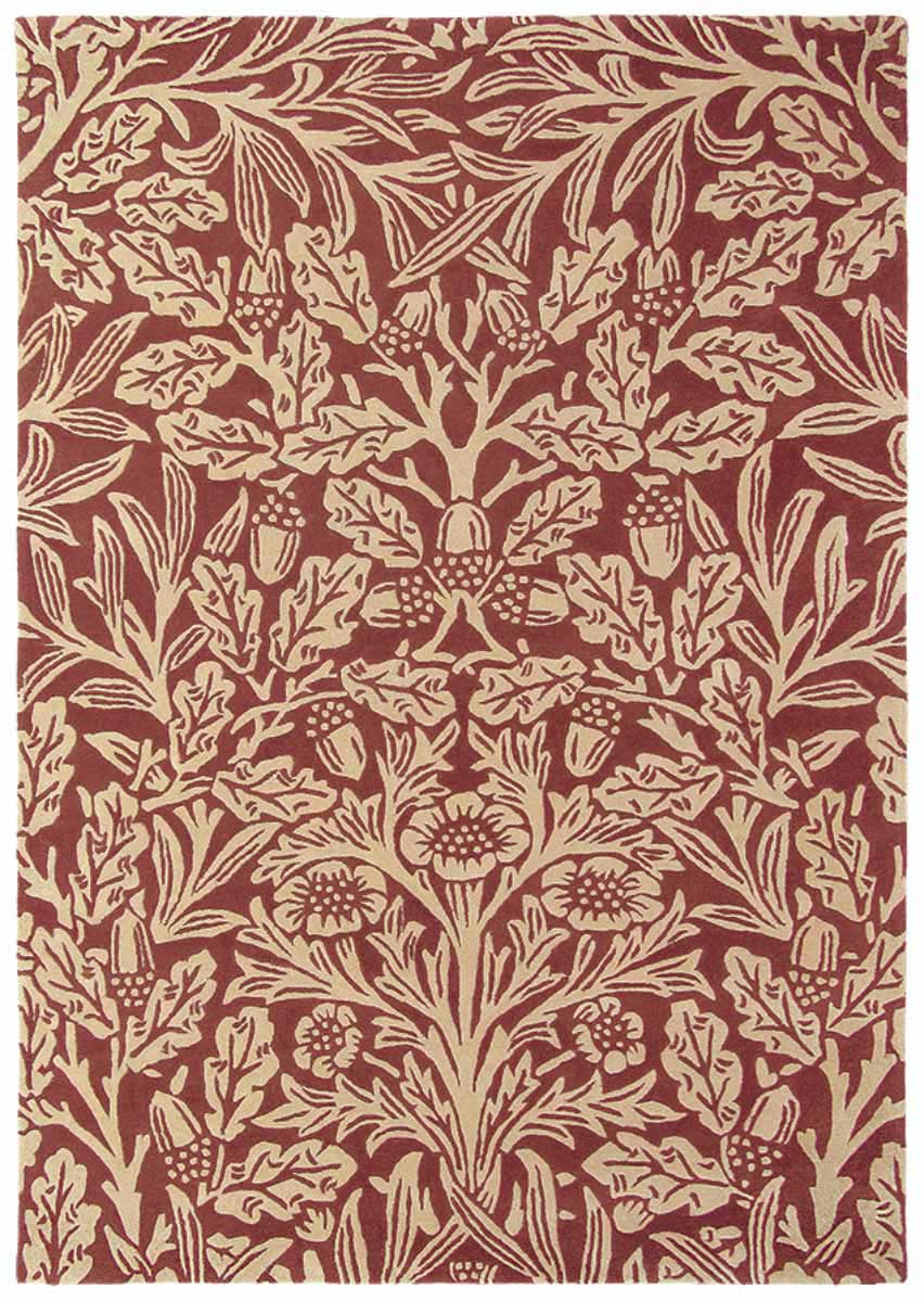 MORRIS & CO OAK CRIMSON