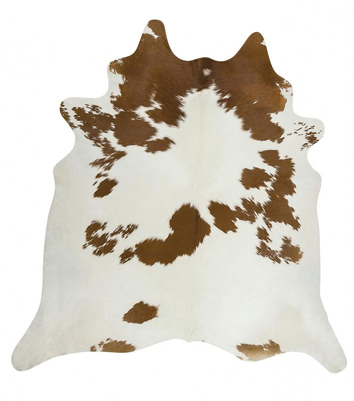 Premium Brazilian Cowhide Brown White Collections Cow