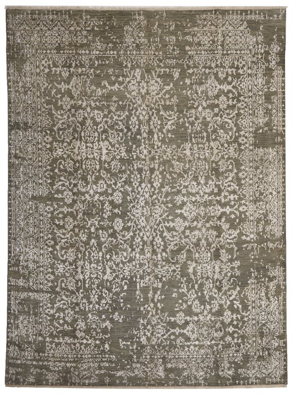 HAND KNOTTED INDIAN 2840 - 364X276CM