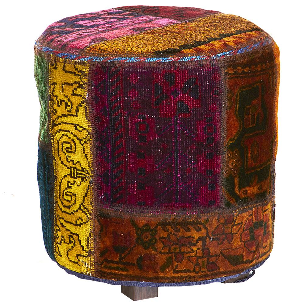 Hand knotted Persian Pat OTTOMAN-OK
