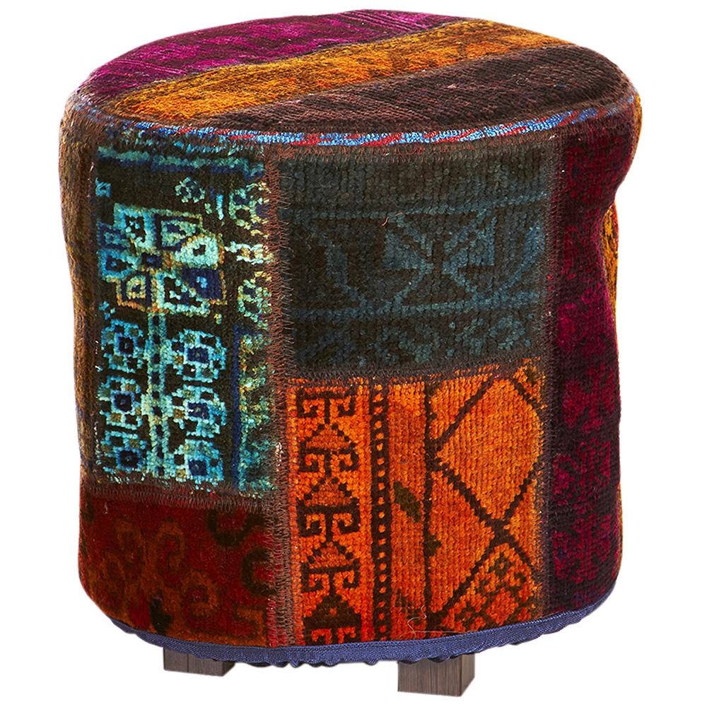 Hand knotted Persian Pat OTTOMAN-R-OK
