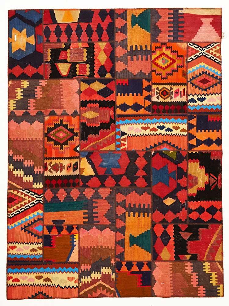 Handmade Persian Kilim Patch Work 2 Ok
