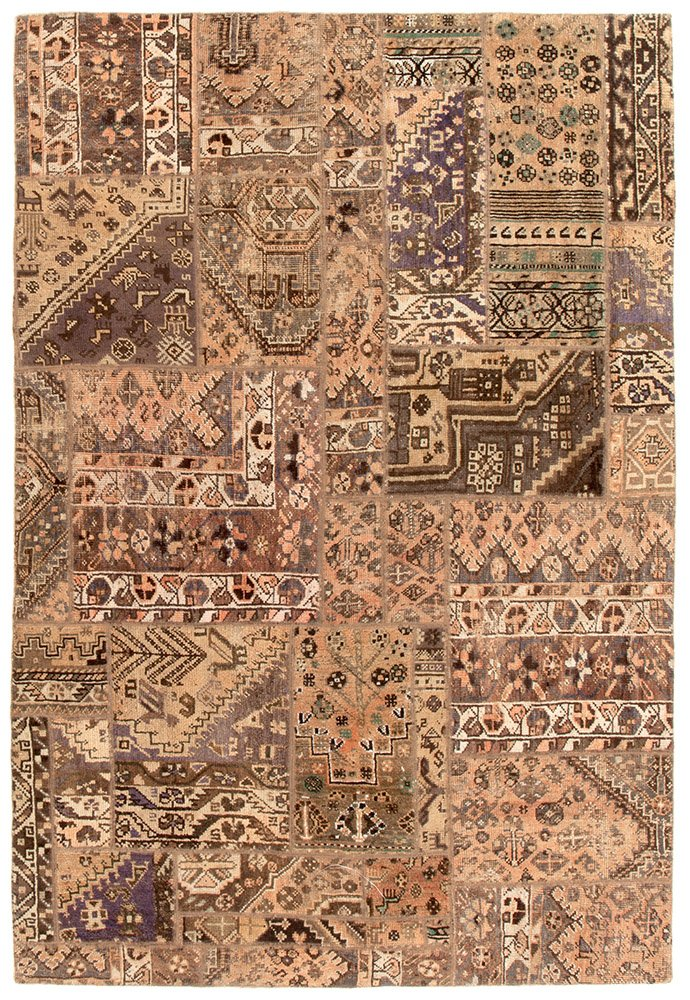 Persian Handnotted Patchwork 229x159cm