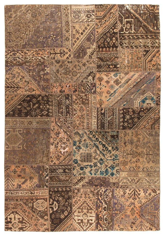 Persian Handnotted Patchwork 288x195cm