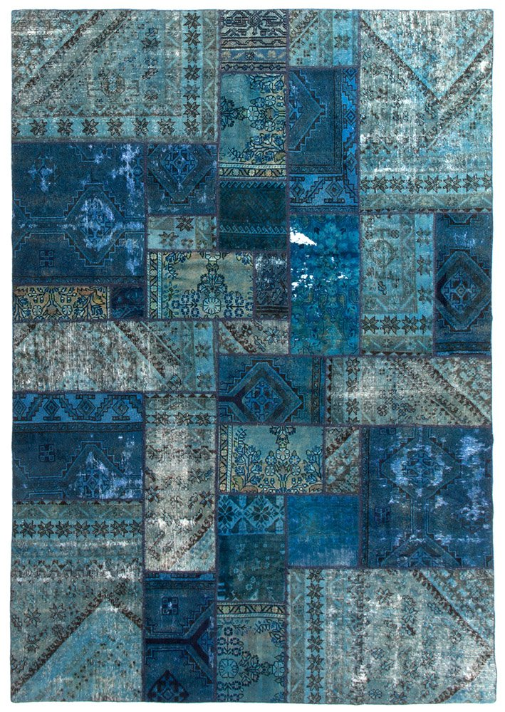 PERSIAN HANDNOTTED PATCHWORK 289X199CM