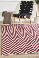 ABODE CHEVRON RED