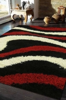 COSMO 2000 BLACK RED IVORY