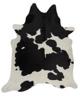 PREMIUM BRAZILIAN COWHIDE BLACK WHITE