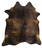 PREMIUM BRAZILIAN COWHIDE DARK BRINDLE