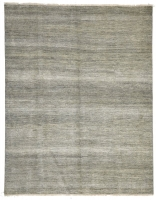 INDIAN FINE HAND KNOTTED L,GREY ,S 4005