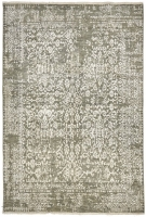 INDIAN FINE HAND KNOTTED L,GREY,SI 4021