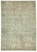 INDIAN FINE HAND KNOTTED GREY,SILV 4033