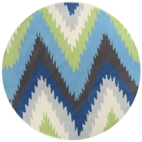 GOLD 630 BLUE AND GREEN ROUND