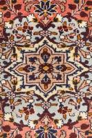 Handknotted Persian Bijar Rug - Terracot