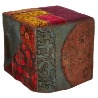 Hand knotted persian OTTOMAN -27-ok