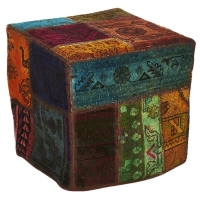 Hand knotted persian OTTOMAN -28-ok
