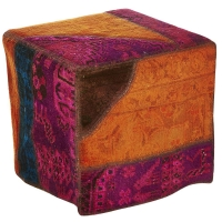 Hand knotted persian OTTOMAN -29-ok