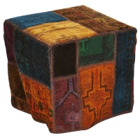 Hand knotted persian OTTOMAN -30-ok
