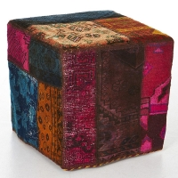 Hand knotted persian OTTOMAN -35-ok