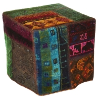 Hand knotted persian OTTOMAN -43-ok