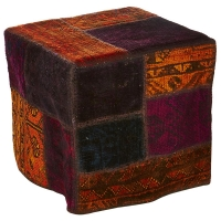 Hand knotted persian OTTOMAN -44-ok