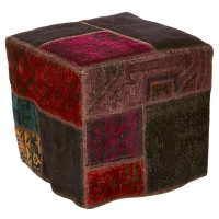 Hand knotted persian OTTOMAN -46-ok