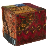 Hand knotted persian OTTOMAN -47-ok