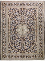 PERSIAN HAND KNOTTED KASHAN 43 - 418X307