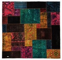HAND KNOTTED PERSIAN PATCH WORK -16-OK