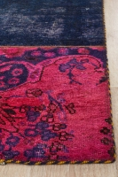 Hand Knotted Persian Patchwork Rug
