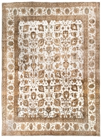 HAND KNOTTED PERSIAN VINTAGE RUG