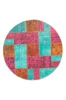 Persian Handnotted Patchwork 148x148cm