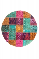 Persian Handnotted Patchwork 149x149cm