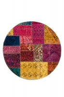 Persian Handnotted Patchwork 150x150cm
