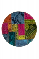 Persian Handnotted Patchwork 152x152cm