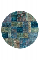 PERSIAN HANDNOTTED PATCHWORK 199X199CM