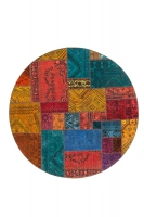PERSIAN HANDNOTTED PATCHWORK 203X203CM
