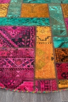 PERSIAN HANDNOTTED PATCHWORK 200X200CM