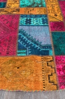 Persian Handnotted Patchwork 237x237cm