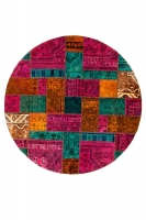 PERSIAN HANDNOTTED PATCHWORK 233X233CM