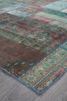 PERSIAN HANDNOTTED PATCHWORK 228X158CM