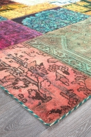 Persian Handnotted Patchwork 290x200cm