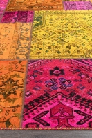 PERSIAN HANDNOTTED PATCHWORK 285X199CM