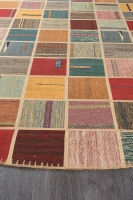 PERSIAN HANDNOTTED KILIM 240X240CM