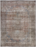 HAND KNOTTED PERSIAN STONEWASH RUG - RED