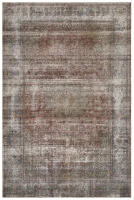 Hand Knotted Persian Stonewash Rug Red