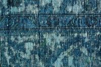 Hand Knotted Persian Stonewash Rug Blue