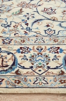 HAND KNOTTED PERSIAN FINE QUALITY NAEN
