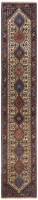 HAND KNOTTED PERSIAN YALAMEH RUG - RED &