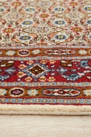 Hand Knotted Persian Moud Rug